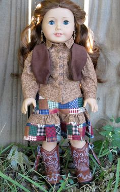 American Girl Doll Clothes  Country by EverythingNice4Dolls, $30.00