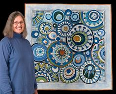 art quilt, quilt idea, hand stitch