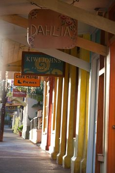 Paia Town (#Maui). I love this place!
