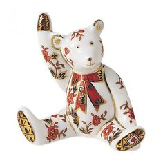 Royal crown Derby bear-Alice