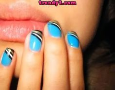 french tips on natural nails