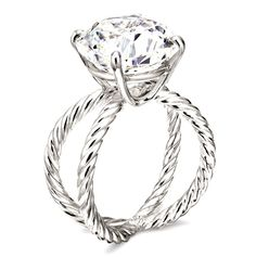 All of David Yurman's rings are custom-made for the bride-to-be - So pretty!