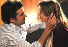 """Derek & Meredith. """"I'm not gonna get down on one knee, I'm not gonna ask a question. I love you Meredith Grey and I wanna spend the rest of my life with you."""""""