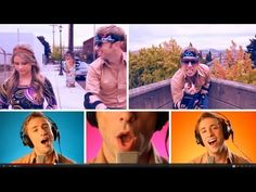 Moves Like Jagger - Peter Hollens - Savannah Outen - (Maroon 5 Cover)