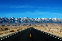Positively Noteworthy sierra nevada, islam, arab, mount whitney, california, the road, do3aa, roads, duaa دعاء