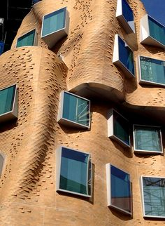 Dr Chau Chak Wing Building by Frank Gehry