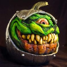 Pumpkin from Outer Space by finalist Jon N. of West Hills, CA | thisoldhouse.com