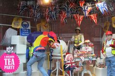 Extra! Extra! Read all about it! Selfridges London's extraordinary Big British Bang windows have been revealed. Each window provides a typically British scene, re-invented with an amusing, rebellious and spectacularly 'Selfridges' twist.