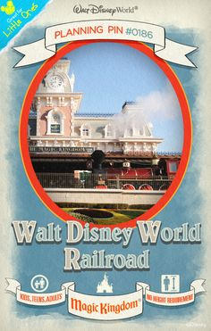Walt Disney World Planning Pins: Walt Disney World Railroad