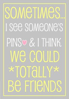 "Saw this & decided I should acknowledge @Marilyn Anderson with it.  We were schoolmates & fellow-residents of Garden Lakes, but I've discovered thru Pinterest that we have many of the same ""likes"" & interests!  #SocialMedia #ItsAsmallWorldAfterAll"
