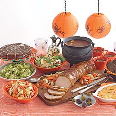 Halloween Supper Menu | MyRecipes.com