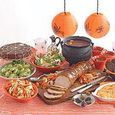 Halloween Supper Menu   MyRecipes.com