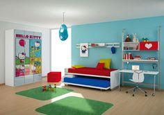 Dormitorio Hello Kitty Urban - Bedroom Hello Kitty Urban