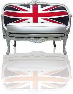 British Flag settee