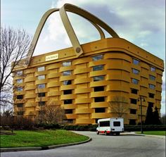 Basket inspired building may be a little to big to take on your picnic #architecture
