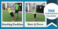 TRX Suspension Training Exercises make working out fun! #trx #workout #exercise #fitness #training #fitnessrxtampa
