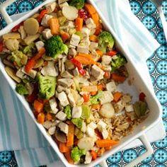 Chicken Stir-Fry Bake Recipe