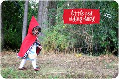 Nap Time Crafters: Little Red Riding Hood Tutorial