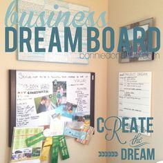 Organize Your Business Vision Board #organizenowblogtour