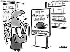 Thanksgiving Cartoons! Gobble gobble!