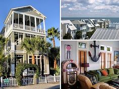 Emil Cottage ~ Featured in Coastal Living MagazineVacation Rental in St. Simons Island from @HomeAway! #vacation #rental #travel #homeaway