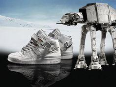 Adidas Originals' AT-AT sneakers.
