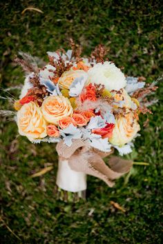 ♥ ♥ this fall bouquet!