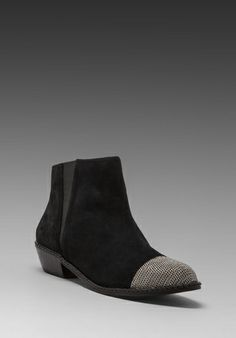 JOE'S JEANS Jolene Boot in Black - Booties want something like this for christmas ahhh
