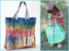@Amy Lyons Hindman: #SummerofJoann Tye Dye Tote :) #DIY