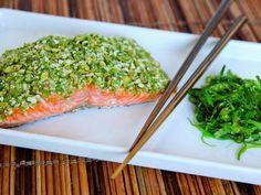 Wasabi Pea Salmon- 3 Ingredients