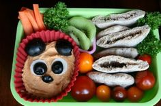 How to pack hummus for your kid's school lunch!