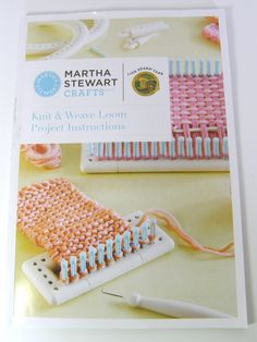 Martha stewart knitting loom review