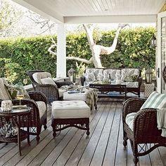 coastal patio decor - Google Search