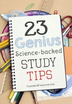 Study tips and tricks to help ace a test!