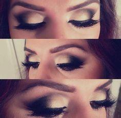 eye make-up for next wedding!!! <3