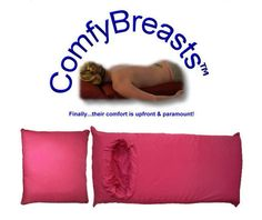 FINALLY! A boob pillow!  This is just too funny not to pin!