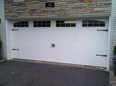 Garage door on pinterest for Wayne dalton garage door window inserts