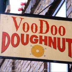 Voodoo Doughnuts in Portland, OR