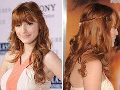 Loving Bella Thorne's Sweet Braid and Curls!