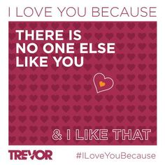 The Trevor Project Valentine's Day message