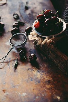 Cherries - This food photography is BEYOND!