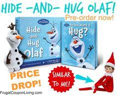 Pre-Order Frozen Hide and Hug Olaf – Price Drop $14 from $27 #olaf #frozen #elfontheshelf #christmas #preorder #pricedrop #sale #hideandhug http://www.frugalcouponliving.com/2014/08/02/frozen-hide-and-hug-olaf/