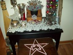 Recycle Reuse Renew Mother Earth Projects: How to make a Yule / Winter Solstice Altar