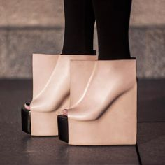 fun shoes, rectangl shoe