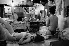 Striptease club, Tokyo 1951 by Werner Bischof