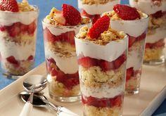 twinkies, trifles, dessert trifl, food, parfait, strawberry desserts, recip, berries, strawberri trifl