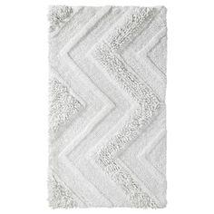 "Room Essentials® Bath Rug - Snow White (20x34"")"