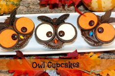 Perfect for cooking with your kids or to bring to a class party!  madefrompinterest.net #cupcakes #halloween