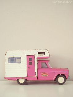 Pink camper!