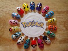 Pokemon Nails  Hehehehe  C=
